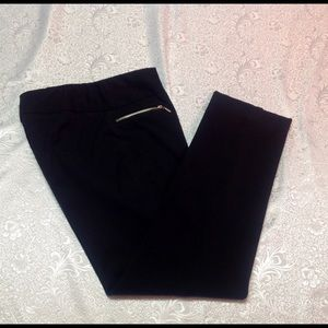 Talbots size 8 Black ankle pants